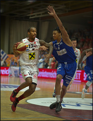 Devante Wallace / Guard (guenterleitenbauer) Tags: pictures sports basketball sport ball photo google fight flickr foto basket image photos action guard champion picture vice indoor images final fotos april wallace match win finale halle austrian gnter korb liga playoff wels 2016 wbc meisterschaft guenter devante leitenbauer wwwleitenbauernet oberwartgunners
