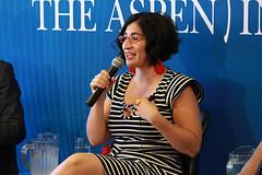 How to Make White People Laugh: Joking Our Way to a More Tolerant Future (The Aspen Institute) Tags: arts institute program aspen imam abdullah negin farsad daayiee