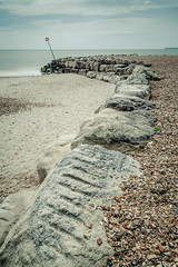 Highcliffe beach groyne (catkin314) Tags: sea colour beach coast groyne highcliffebeach