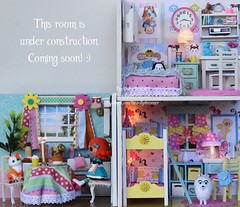 Do It Yourself Rooms (thedollydreamer) Tags: miniature diy bedroom doll room doityourself dollhouse minilalaloopsy banggood tsumtsum thedollydreamer bridgetdellaero