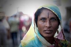 (inaki_urreizti) Tags: portrait woman india eyes indian pushkar