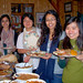 """Our Thanksgiving was shared with several international students from SLU."" Photo: Barb Heller"