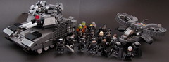 DARKWATER Worldwide (Andreas) Tags: tank lego military darkwater legoblackwater scorpiongunship