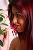 Jennifer (vanessa.manini) Tags: jennifer flor sorriso menina 15anos cheirando