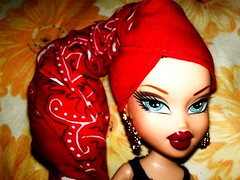 Red Photoshoot: Roxxi (photo #1 of 3) (Bratz Guy☆) Tags: girls red fashion rock photography dolls mga bratz roxxi bratzparty