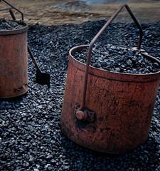 Coal Buckets (AlinNZ) Tags: train bucket coal glenbrook