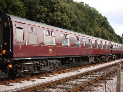 Heritage First Class carriage for charter trains