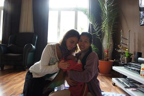 Liepzig - visita pós parto com Birke