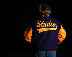 Letterman (Studio d'Xavier) Tags: lsu 365 letterman 365days mybetterhalf werehere 29daystogo 335365 studiodxavier 3652011 december12011