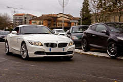 BMW Z4 - Telethon - (Nicolas Serre) Tags: 3 club automobile bmw z4 dax décembre samedi telethon 2011 daquitaine sportives