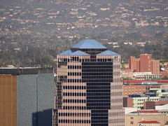 20111204 - Sony HX100V - A Mountain hand held shot of the UniSource Energy Tower in Tucson (lasertrimman) Tags: mountain tucson sony amountain a hx100v 20111204