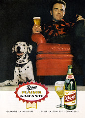 Dow (Denis Goulet) Tags: dog beer ads ale retro dalmatian readersdigest 1959 vintageadvertising dow