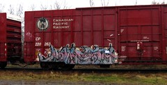 KWEST (YardJock) Tags: art train graffiti graf tracks railway boxcar freight bsm hsa
