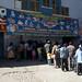 In coda per vedere lo spettacolo di lucha libre a El Alto (La Paz)