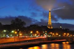 Eiffel Tower - Long Exposure