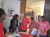 Displaying WWO-AHF Activity at  WAD Exhibition