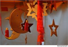 Weihnachtsmarkt   /   Christmas market (to.wi) Tags: weihnachten mond advent weihnachtsmarkt engel markt stern figur gppingen berkingen towi stauferkreis badberkingen