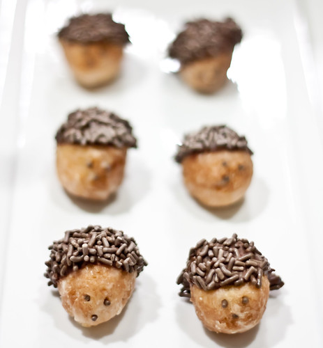 hedgehog donuts