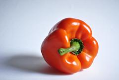 Orange Pepper (michaelnpatterson) Tags: orange macro vegetables pepper healthy vegetable orangepepper