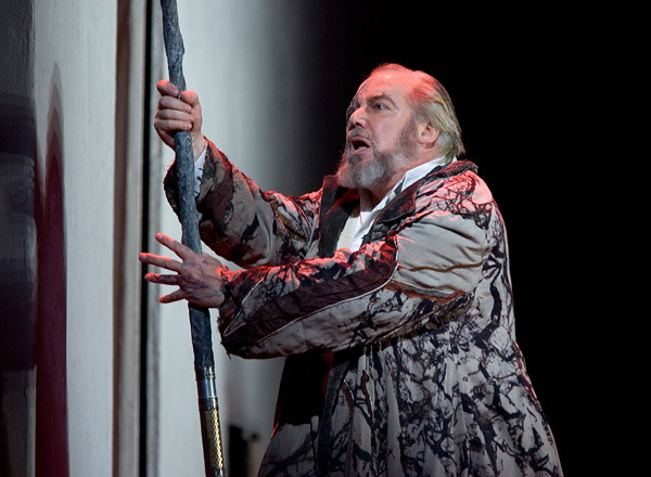 Sir John Tomlinson as Wotan in Die Walküre © Clive Barda/ROH 2007