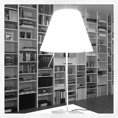 Bookshelf spectrum (iBSSR who loves comments on his images) Tags: light white black blur apple studio book office spectrum desk library space room bookshelf bookshelves organization organize bnb constanza libslibs librariesandlibrarians luceplan iphone4 blurism instagram huibvanwijk bssrhouse