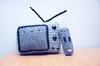 t.v. and remote (callie callie jump jump) Tags: black smile burlington tv vermont handmade crochet gray kawaii remote amigurumi