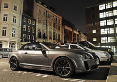 Bentley Continental Supersports Convertible (Robin Kiewiet) Tags: world auto uk england london english cars ice sports robin car night speed finland volkswagen photography spur flying nikon shot nightshot britain united ss great continental kingdom convertible automotive super motors crewe gb record 1750 second british autos tamron limited 2009 generation f28 60 v8 bentley w12 zagato on phaeton gtc supersports ethanol gtz kiewiet e85 d300s 630bhp wsroi