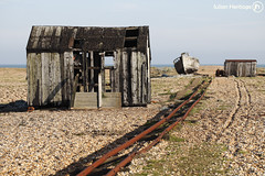 Detritus (ShrubMonkey (Julian Heritage)) Tags: old abandoned beach out boat fishing solitude track alone decay shed bleach hut tina bleak beached dungeness isolation shack washed bleakness discarded left derelict deserted relic solace 5d2 mygearandme