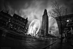 Dark city (Nicolas.M Photographie) Tags: city longexposure bw night nikon amiens nn samyang