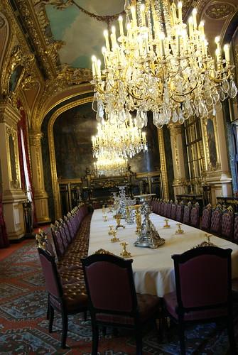 Grande salle à manger des appartements de Napoléon III