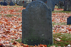 Interesting Inscription (charles25001) Tags: cemetery grave tombstone colonial newengland burial historical massachussets settler historicaldeerfield charles25001