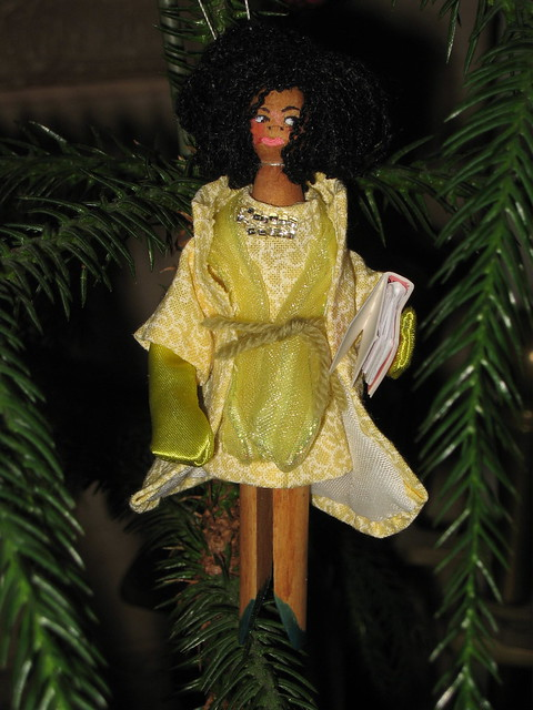 MICHELLE OBAMA Ornament #6 IMG_1366