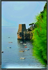 """Torre (""""SnapDecisions"""" photography) Tags: italy tower nikon torre amalficoast positano ipad hirschfeld photogene snapdecisions"""
