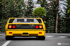 Merry Christmas (Raphaël Belly Photography) Tags: paris cars car yellow jaune de french photography eos hotel riviera photographie ferrari casino montecarlo monaco mc belly amarillo exotic giallo f 7d 40 modena hermitage raphael luxury rb rocher fairmont spotting forty supercars f40 v12 telethon raphaël principality 2011 téléthon principauté quarante egarage