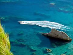 Karpathos Paradise (mario_lem73) Tags: blue sea water boat aegean azure sunny olympus greece kit shallow karpathos evolt e500