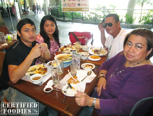 Family lunch at Cabalen in Trinoma