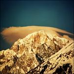 Golden morning over Mont Blanc