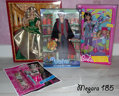 My Christmas 2011 (Mgr  ) Tags: monster high doll chelsea barbie skipper harry potter