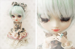 Kula wishes you a wonderful 2012  DDW01/52 (Paula ~) Tags: blue white cute classic outfit diptych aqua doll handmade lace turquoise cream mint pale ring deer biscuit lolita romantic groove classical pullip fashiondoll bows 2012 prunella eris 152 coolcat frills hermine whity iw sbhs leeke obitsu junplanning innocentworld ddw 27cm leekeworld rewigged obitsubody ndoll rechipped headbow amarri obitsued tiphona