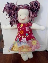 Lucy - my very first doll (Sami's Dolls) Tags: elephant turtle stuffedanimals samu handmadetoys waldorfdolls waldorftoys samiramina samisdolls