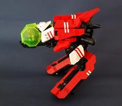 Salamander Sparrow (side) (Super Destructo) Tags: ship lego space salamander sparrow