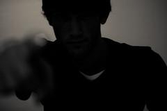blackout - the uncle sam (olivermaximilian) Tags: selfportrait oliver faceless blackout selbstportrait unclesam canoneos400d plociennik