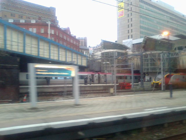 Birmingham New Street Station - Virgin Super Voyager trains - Navigation Street