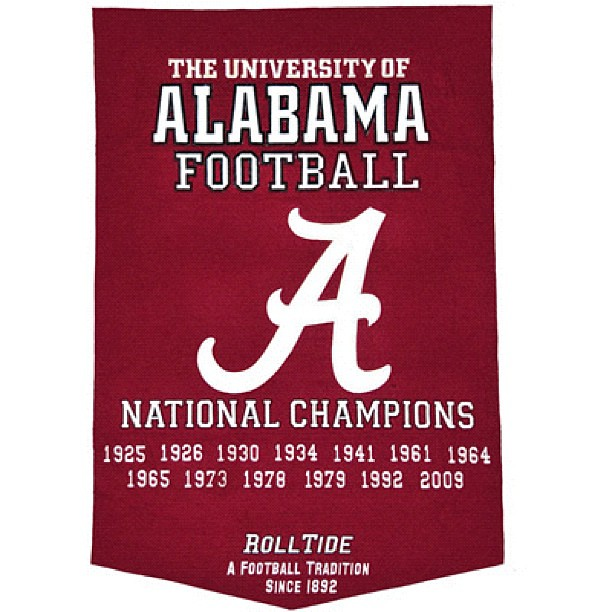 In football the SEC reigns supreme. In the SEC the state of Alabama reigns Supreme and the ALABAMA CRIMSON TIDE is King. Nick Saban wears the crown. The SEC has won the last 6 years. The state of Alabama has won three of those 6 years.  Alabama has won tw