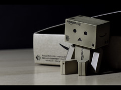 Danboos Adventure Week [01/52] ( Hector Alonso) Tags: cute canon toy eos 50mm f14 danbo revoltech 60d danboard danboo