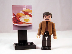 "Ron Swanson Custom Minimate • <a style=""font-size:0.8em;"" href=""http://www.flickr.com/photos/7878415@N07/6673513301/"" target=""_blank"">View on Flickr</a>"