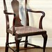 214. Queen Anne Style Arm Chair