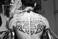 Polynesian Style Tattoo (shaire productions) Tags: blackandwhite bw art geometric monochrome face tattoo island photography hawaii polynesia design photo blackwhite graphic image body arts style monotone tribal tattoos islander photograph hawaiian designs organic grayscale tat imagery blackwork greyscale tattooing polynesian portbodyart