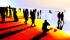 Feel Free (rabidash*) Tags: india beach nature beautiful sunrise golden fantastic dash orissa rabi puri rabindra rabidash odisha rkdash photocontesttnc12 sunriseonpuribeach rabidashphotography naturearttnc12