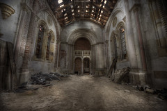 abandoned monastery main Hall (andre govia.) Tags: building abandoned church buildings decay andre creepy explore monastery ue urbex govia